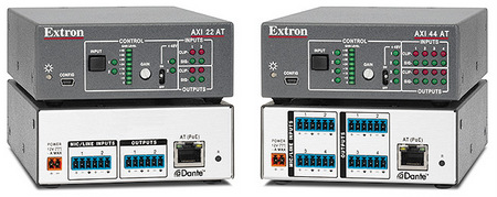 Extron's New AXI Series Dante Audio Interfaces