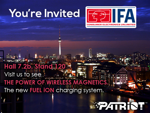 Patriot IFA invite