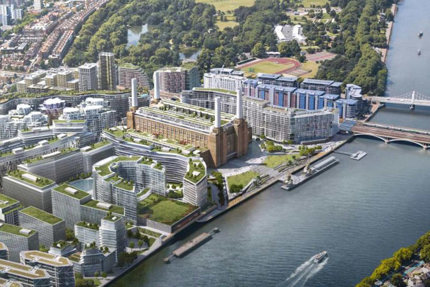 Apple Moves London HQ to Battersea Power Station