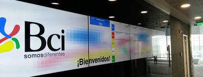 BCI Bank wall