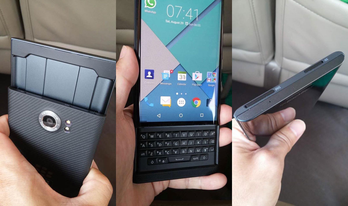 BlackBerrry Presents Priv Android Phone