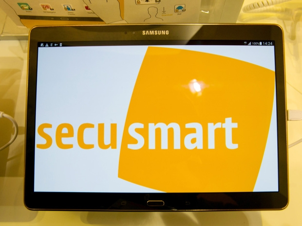 BlackBerry, Samsung, IBM Intro SecuTABLET