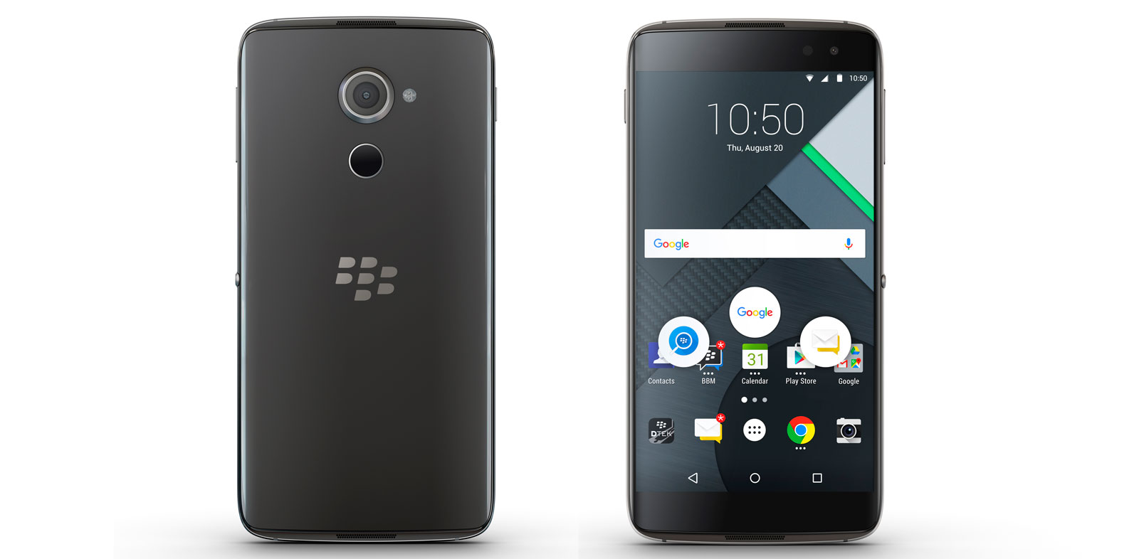 BlackBerry Presents DTEK60 Android Phone