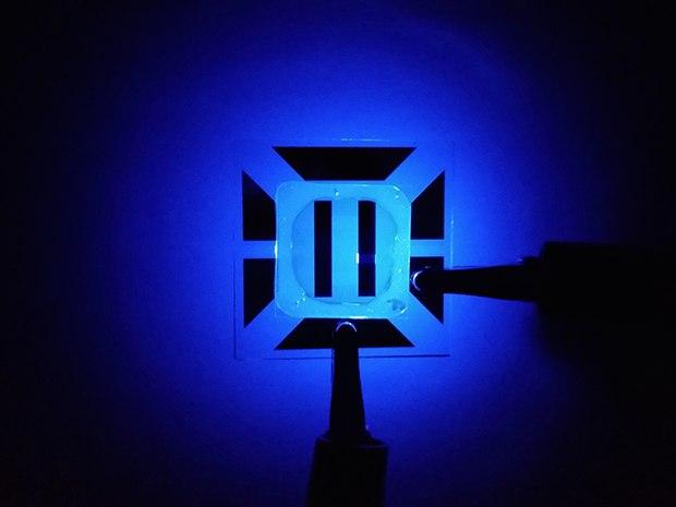 Blue OLED