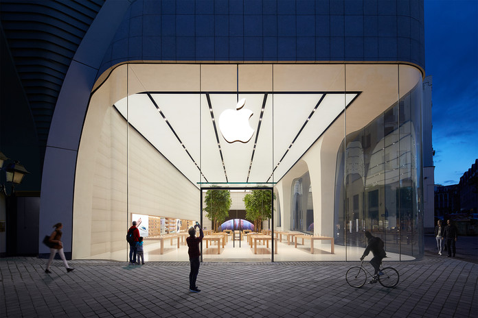 Brussels Apple Store Opens