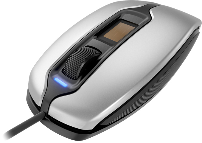 Cherry Adds Fingerprint Reader to MC 4900 Mouse