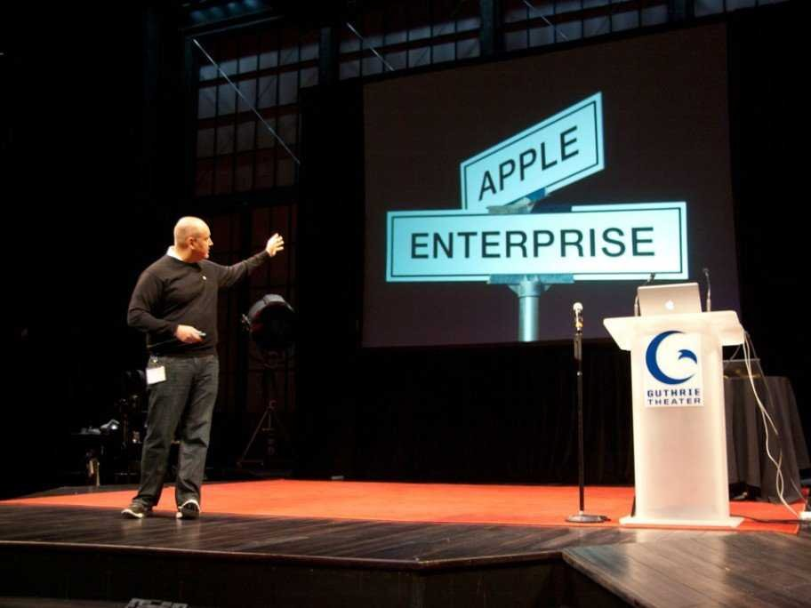 Enterprise Warms Up to Apple