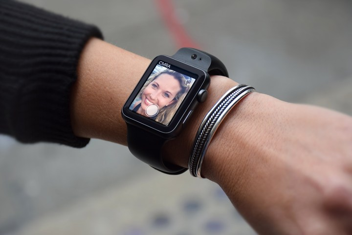 A CMRA Camera for the Apple Watch