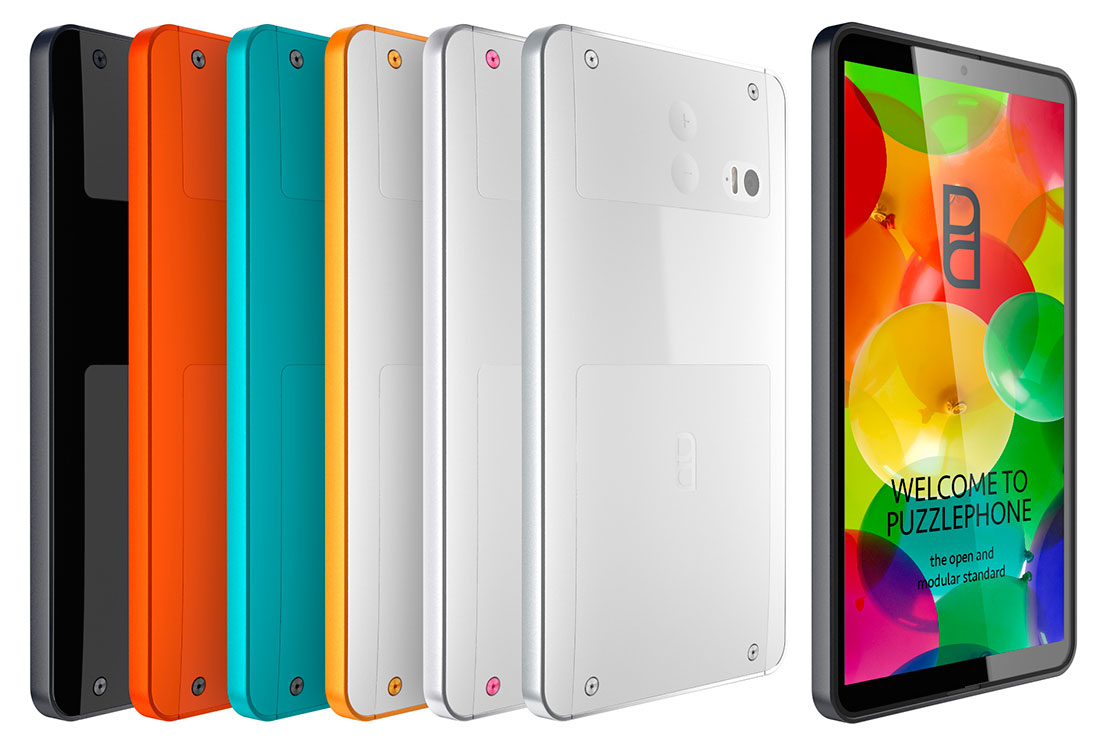 PuzzlePhone Enters Modular Phone Arena