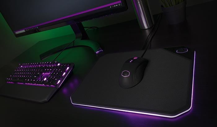 Cooler Master Adds RGB to Mousepad