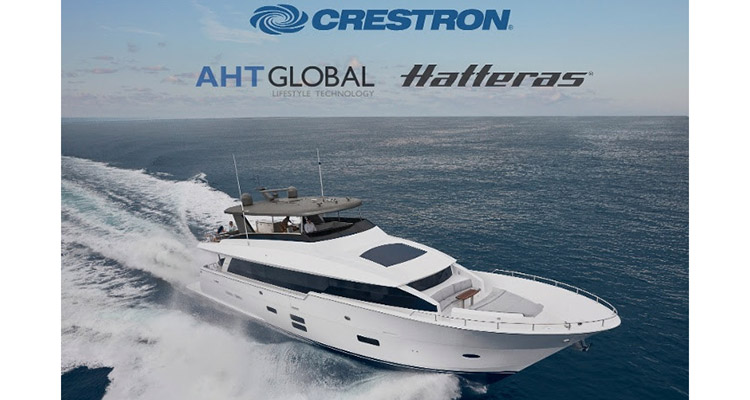 Crestron yachts