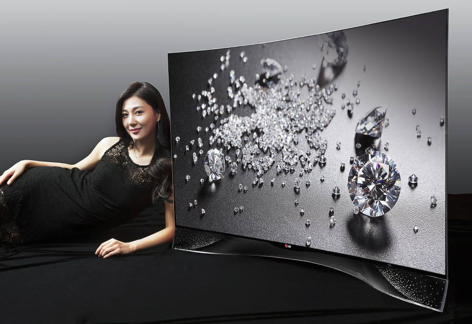 LG Sticks Crystals on OLED TV