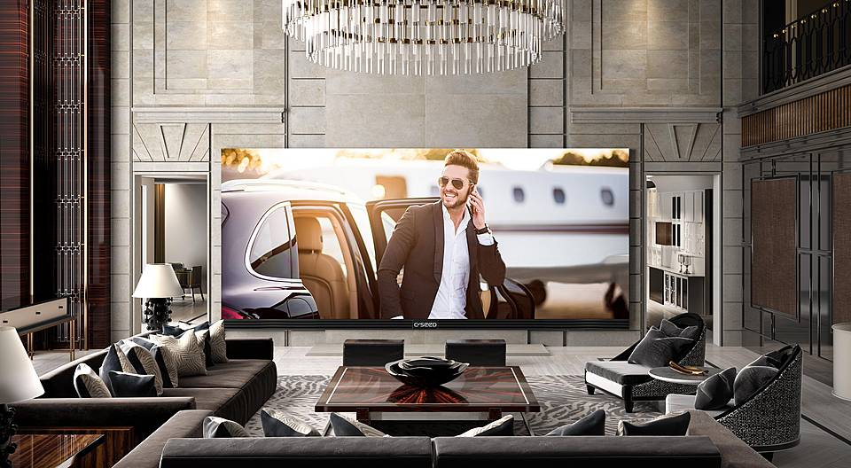 Meet the Largest 4K TV... Ever!