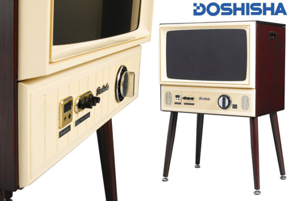 An Retro LCD TV for a More Vintage Era