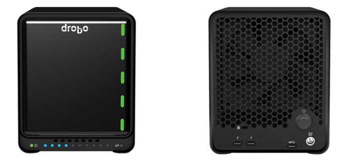 Drobo Presents 5-Bay 5D3 Thunderbolt 3 Storage