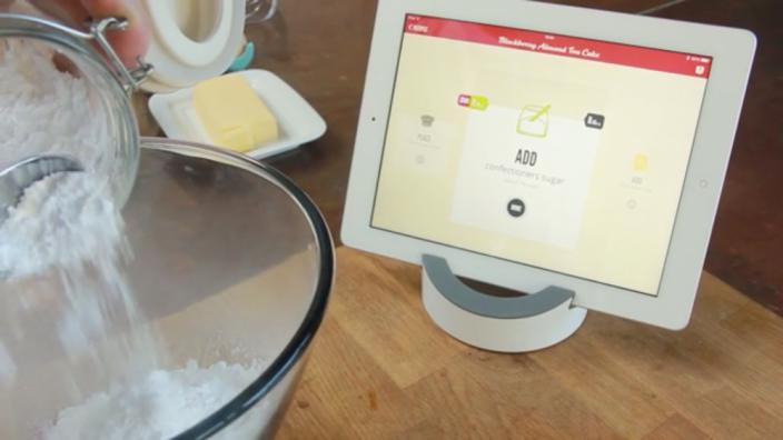 The iPad as Kitchen Companion