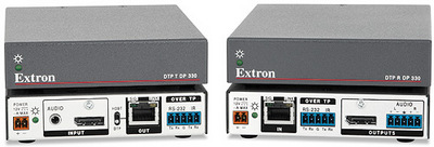 Extron Ships 4K DTP Twisted Pair Extenders for DisplayPort