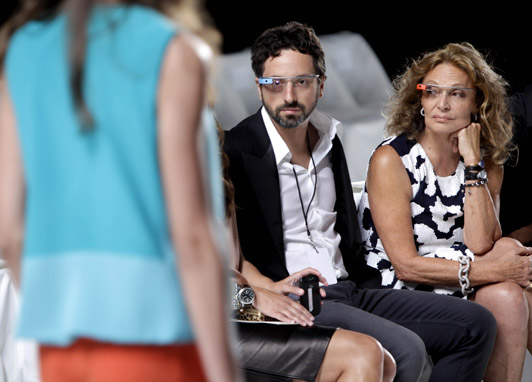Google Glass Steps on the Catwalk
