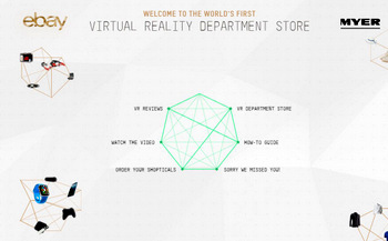 World's First Virtual Reality Department Store