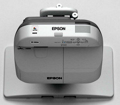 Epson's First Finger-Touch Interactive Projector