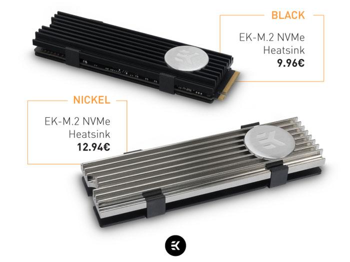 EKWB Intros M.2 NVMe Heatsink