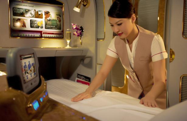 Emirates bed
