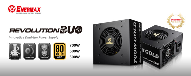 Enermax Intros Revolution Duo PSU