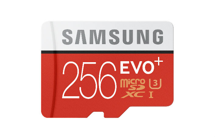 Samsung MicroSD Cards Go Up to 256GB
