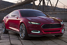 Ford Concept Drives on the Cloud