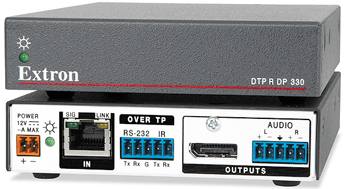 Extron Ships 4K DTP Twisted Pair Extenders