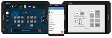 Use Android Devices with Extron AV Control Systems