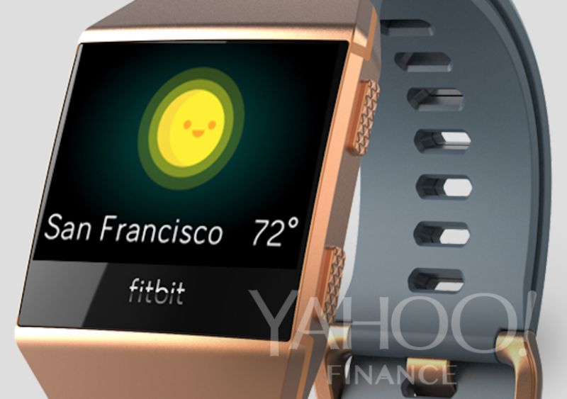 Leaked: Fitbit's First Smartwatch!