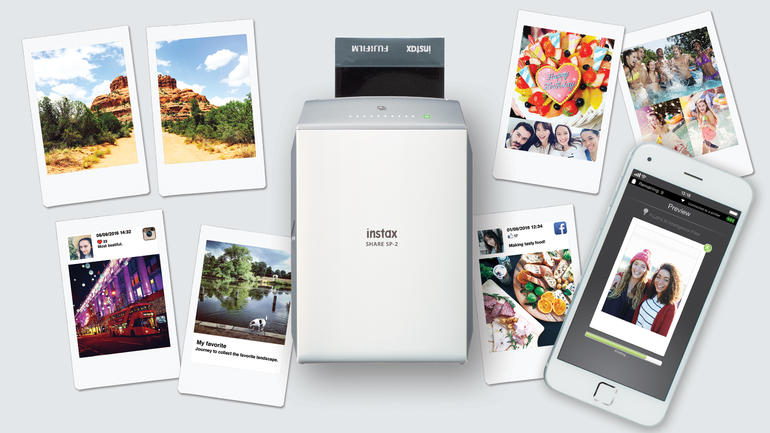 Fujifilm Updates Instax Share Mobile Printer
