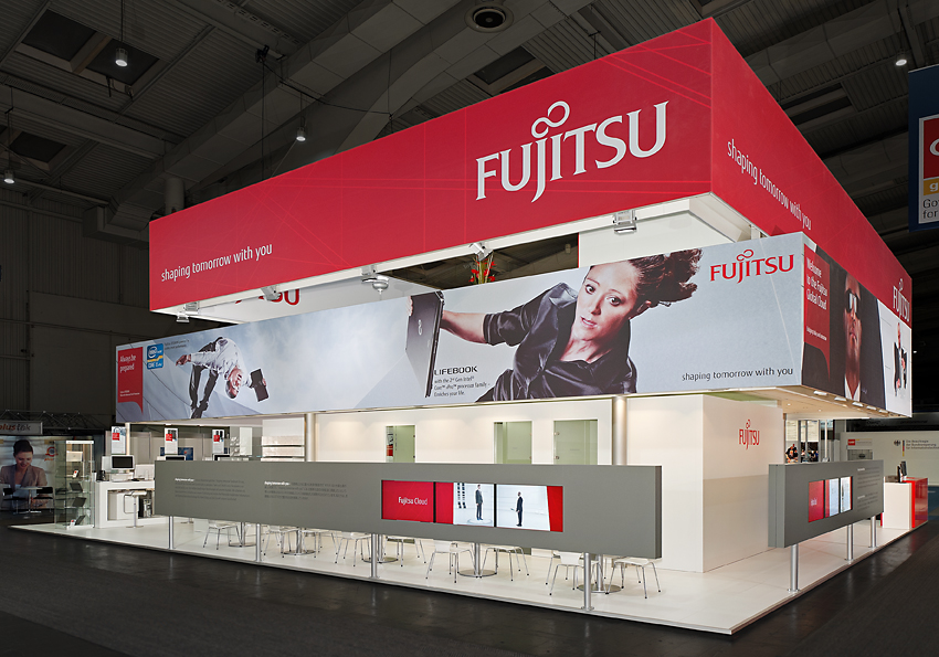 Security, Notebooks at Fujitsu's CeBIT 2013