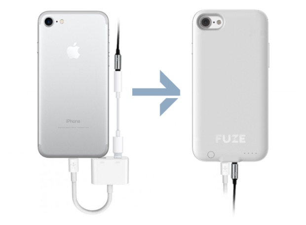 A Fuze Case to Give the iPhone 7 a Headphone Jack