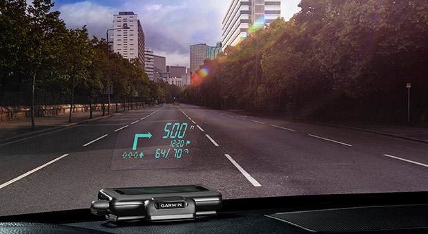 Garmin Reduces Distractions with HUD