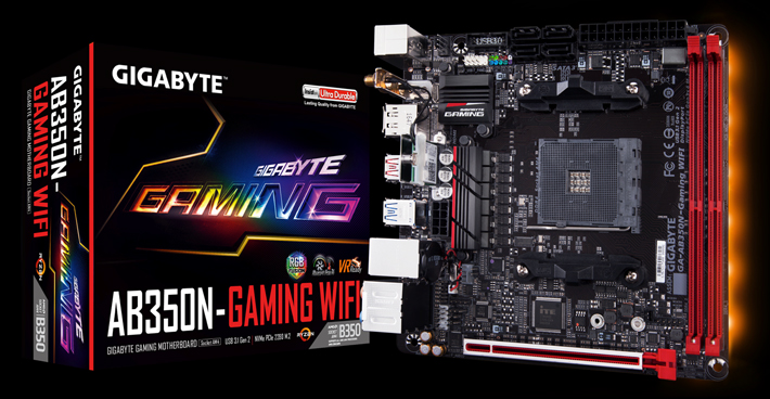 Gigabyte Intros AB350N-Gaming Wifi Motherboard