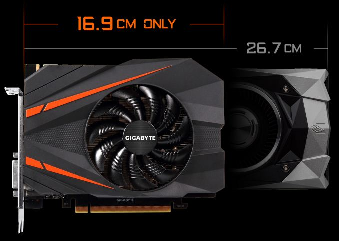 Gigabyte Presents Smallest GTX 1080 Card