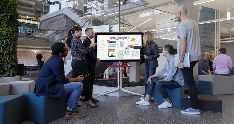 Google Presents Cloud-Powered Jamboard