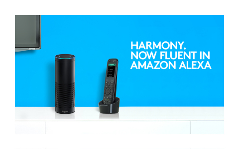 Logitech Harmony Gets Alexa Voice Control