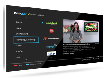 DivXTV Launches on LG