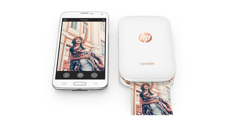 HP Presents Sprocket Mini Printer