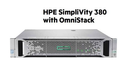 HPE Presents SimpliVity 380 With OmniStack