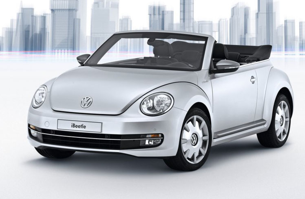 VW + Apple = iBeetle