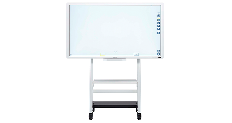 IBM Ricoh whiteboard