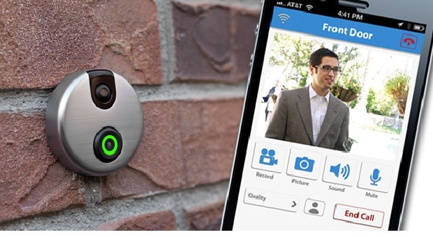 The iDoorCam has a proposition for customers not wanting to get up to answer calls at their doors-- a webcam-equipped doorbell allowing one to check who is ...  sc 1 st  European Custom Installer & An iDoorCam to Answer Doors