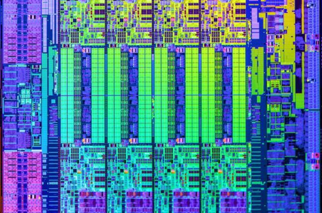 Intel die