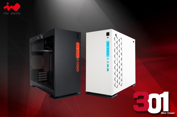 In Win Intros 301 Micro ATX PC Chassis
