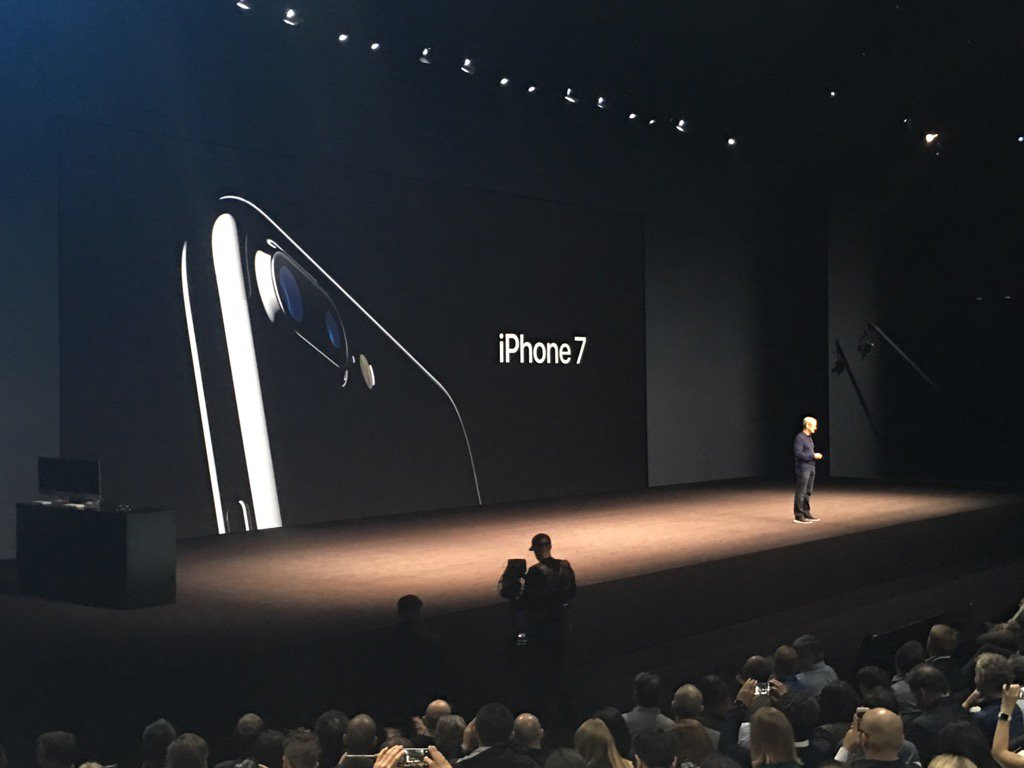 Apple Announces iPhone 7, 7 Plus