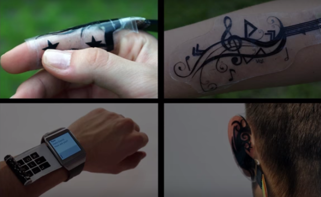 Mobile Device Control, on the Skin